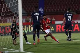 حسين الشحات يسجل هدف التعادل للأهلي في شباك بيراميدز بالدوري - بوابة الأهرام