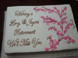 10 Elegant Retirement Cakes For Women Photo Ladies 40th Birthday