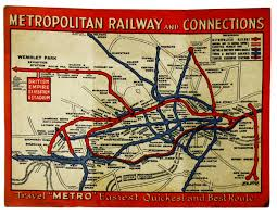 The Edwardian Origins Of The Tri Fold Tube Map Fit For The