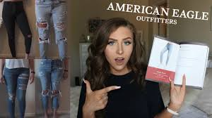 American Eagle Denim Fits Try On Back To School Jean Guide