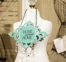 jeweled home sweet home sign metal wall hanging metal wall plaque metal wall decor