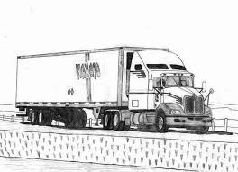 Small Picture 18 Wheeler Semi Truck Coloring Page NetArt