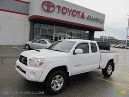 2006 Toyota Tacoma V6 TRD Sport Access Cab 4x4 in Super White ...