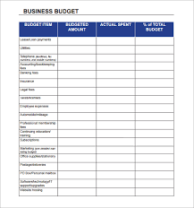 budget spreadsheet small business expense sheet templates sample business budget 9