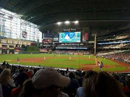 Minute Maid Park Section 116 Home Of Houston Astros