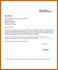 Sample Scholarship Request Letters 5 6 Sample Scholarship Application Letter Cvideas