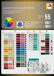 Glasurit Color Chart Glasurit 55 Line Glasurit
