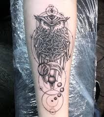 татуировка на предплечье у девушки сова фото рисунки эскизы