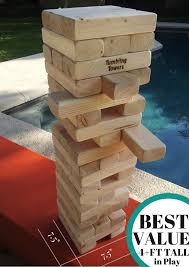 How To Play Tumbling Tower Wooden Block Game Large upto 100FT Plain 100×100 Set Giant Tumbling Towers™ Party 10
