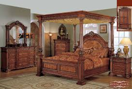 Bed & Bedding: Excellent King Canopy Bed For Elegant Master Bedroom ...