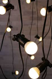 warm look vintage string lights for outdoor