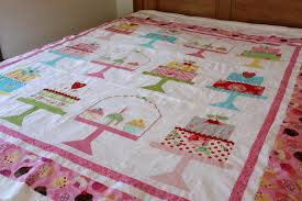 Mountain Musings: Cakewalk at the Farmer's Market ~ Part 4 & I've been working on a cake quilt for Sarah's booth--Sarah's Sweets! The  pattern is called Cakewalk by Lori Holt, and the fabric is Flower Sugar by  Lecien ... Adamdwight.com