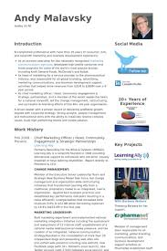 Chief Marketing Officer Resume Samples - Visualcv Resume Samples ...