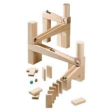 first ball track marble run haba