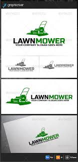 lawn mower logo. lawn mower - logo design template vector #logotype download it here: http:/ e