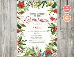 Images Of Christmas Invitations Christmas Party Invitations Christmas Invitations Watercolor Chistmas Christmas Party Watercolor Christmas Invitation