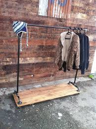 cast iron pipe clothing rack