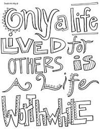 Small Picture all quotes coloring pages thesew ould be cute to print and color