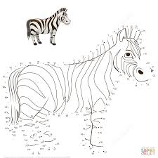 dot to dot animals.  Animals Click The Zebra Dot To Dots View Printable Version Or Color It Online  Compatible With IPad And Android Tablets And Dot To Animals