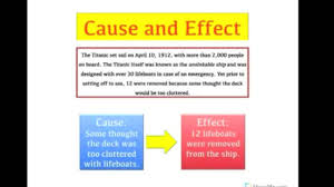 Ri 3 3 Time Sequence And Cause Effect Lessons Tes Teach
