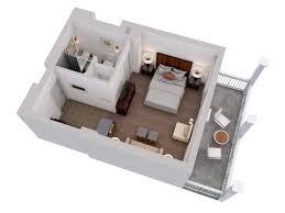 3D Floor Plans At Trianon Palace VersaillesStaybridge Suites Floor Plan