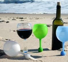 floating wine glasses these float in the water stand sand uk floating wine glasses