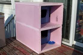 astonishing outdoor cat house plans cold weather condo