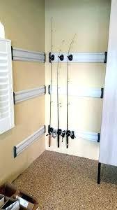 fishing pole storage diy fishing pole storage s holder bag fishing pole rack diy