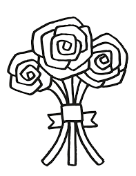 Small Picture Wedding Bouquet 5 Free Printable Coloring Pages Vintage