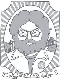 Jerry garcia coloring book book. Jerry Garcia By Adrianna Bamber Creative Action Network