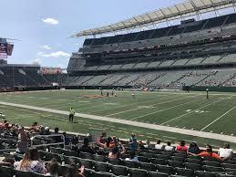 Paul Brown Stadium Section 134 Rateyourseats Com