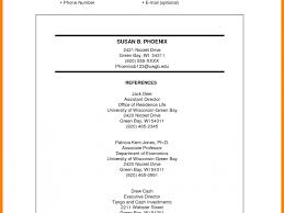 Crafty Design Reference Resume Example 2 Template Cv Resume Ideas