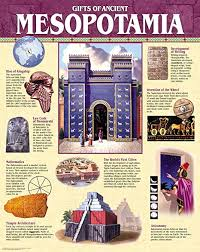 Creative Teaching Press Gifts Of Ancient Mesopotamia Chart 5560