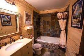Attractive Log Home Bathroom Ideas Home Bathrooms Rustic Log Cabin Bathroom  Traditional Bathroom Log Home Bathroom Decorating