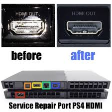 sony playstation 4 port. sony playstation 4 fix broten ps3 ps4 hdmi port repair service reballing