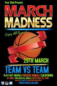 March Madness Flyer Printable March Madness Flyer Template Click To Customize March