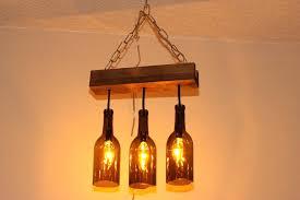 bottle light fixture milk bottle lamps chandelier by beer bottle