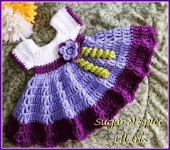 Free Baby Crochet Patterns New Sugar N Spice Baby Dress Free Pattern AllCrafts Free Crafts Update