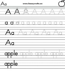 Letter A Worksheet Practice Writing Letters Worksheets Preschool Pdf ...