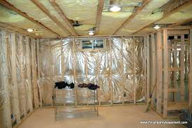 how to drywall a basement vibrant design framing basement walls best of how do you build