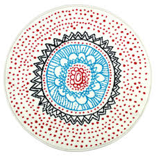 teal round rug s kitchen runner color runners rugs target