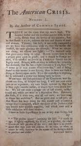 mark lawson antiques announces the discovery of a rare and the american crisis by thomas paine a rare important document from the american revolution
