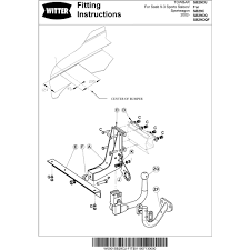Saab 9 3 towbar wiring instructions wiring diagram