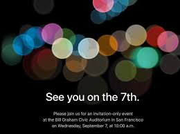 Unveiling Invitations Apples Press Invite For Iphone 7 Unveiling Hints At Major