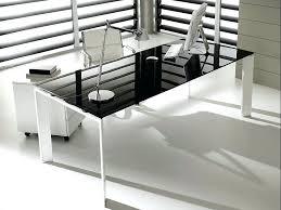 office desks glass. Tempered Glass Office Desk Desks Contemporary Home S