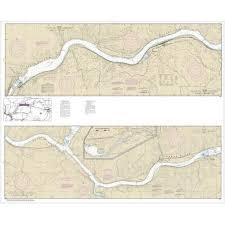 Noaa Chart Snake River Lake Herbert G West 18546