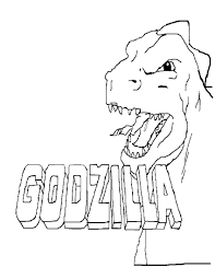Download and use them in your website, document or presentation. Godzilla Coloring Pages Print Monster For Free