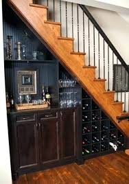 basement wet bar under stairs. Basement Wet Bar Under Stairs Save Space By Putting A Mini Or Wine Storage O