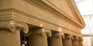 pillars labeled machusetts college of pharmacy