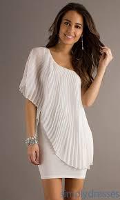 Designer One Shoulder Cocktail Dresses 2014 Designer Empire Ivory Short Bodice Slim Taffeta Custom